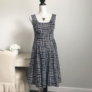 Calvin Klein Fit and Flare Swing Dress